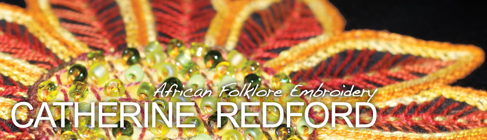 Catherine Redford - African Folklore Embroidery